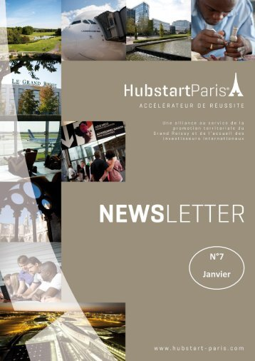 Newsletter n°7 - Janvier 2013 - Hubstart Paris
