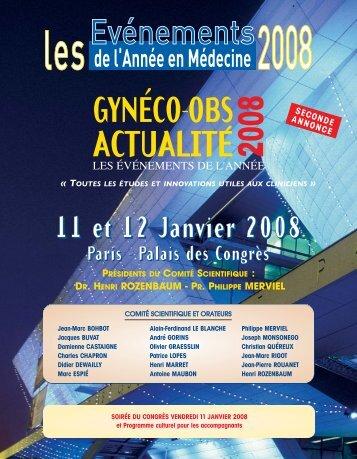 gyneco-obs actualite 2008 - ESKA