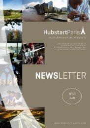 Newsletter Hubstart Paris - Grand Roissy n°11 - Juin 2013
