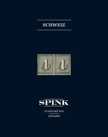 SCHWEIZ - Spink