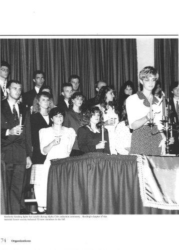 74 Organizations - Harding University Digital Archives