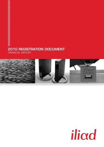 2010 REGISTRATION DOCUMENT - Iliad