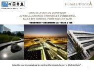 Téléchargez la présentation des projets commentés ... - Hubstart Paris