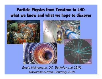 Lecture III - Www Atlas Lbl