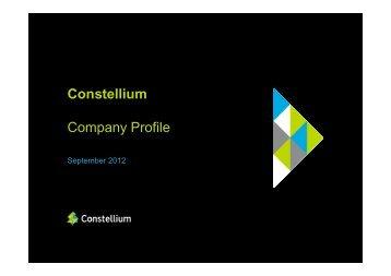 Constellium Company Profile