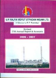 Balance Sheet 2006-07 - uprvunl