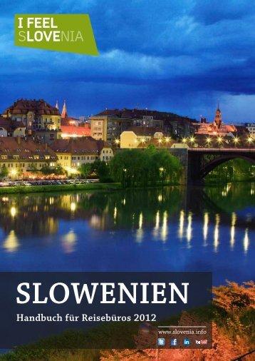 Handbuch für Reisebüros 2012 - Slovenia