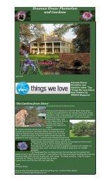 Open Daily - Houmas House Plantation and Gardens