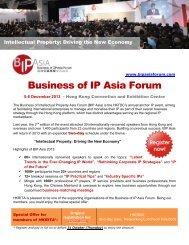 Business of IP Asia Forum - hkrita