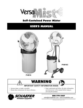 Complete Mist Fan Kits Misting Systems And Misting Fans
