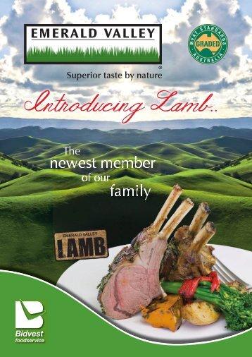 Introducing Lamb.. - Bidvest