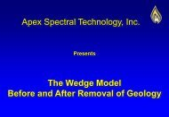 Apex Spectral Technology, Inc. The Wedge Model Before and After ...