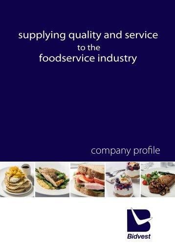 Company Profile - Bidvest