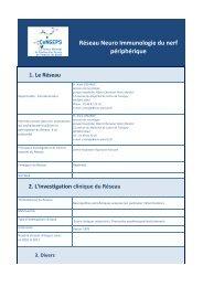Neuroimmunologie du Nerf Périphérique Non soutenu ... - CeNGEPS