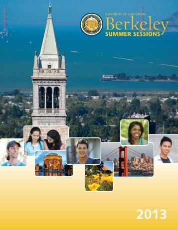 Calendar and Deadlines - Berkeley Summer Sessions