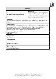 Welcome Fertigkeit: Miteinander Sprechen Niveau A1 Deskriptor ...