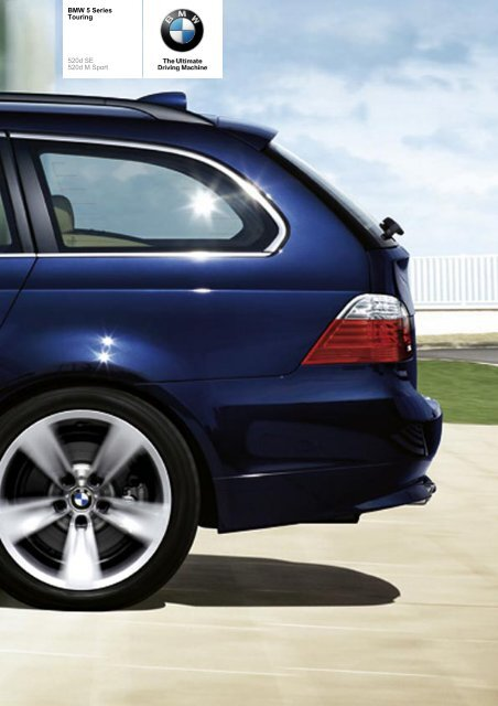 The BMW 5 Series 520d Touring - e-Transport.ro