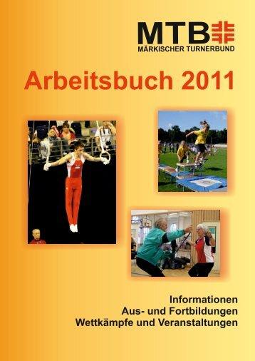Arbeitsbuch 2011 - Märkischer Turnerbund