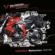 HONDA Selection 2012 - Zu SW-Motech