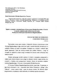 dr hab. Zofia Zaron - Uniwersytet Warszawski