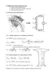 Obliczenia elektromagnetyczne: