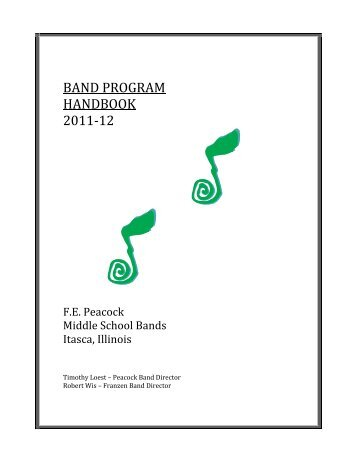 Music booster application essay
