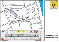 Wechselzone 1 Marathonstaffel - Deutsche Post Marathon Bonn