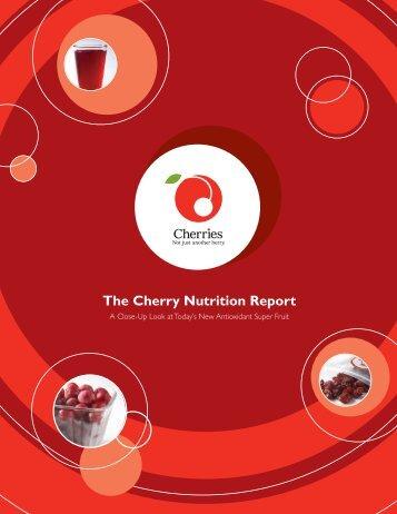 Tart Cherries at a Glance