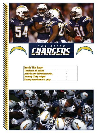 Chargers Newsletter - WOHS