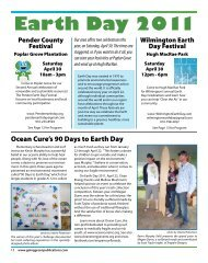 Earth Day 2011 - Going Green