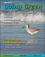 Ocean Exploration - Going Green