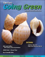 OCEAN: - Cape Fear's Going Green