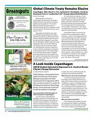 Greenspots - Going Green | Eco-Friendly Resource Magazine