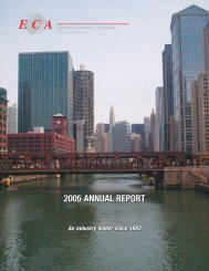 2005 annual report 2005 annual report - Electrical Contractors ...