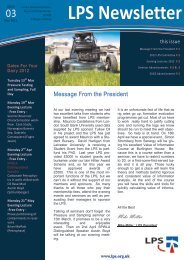 Download March 2012 Newsletter - London Petrophysical Society
