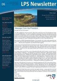 Download June 2013 Newsletter - London Petrophysical Society