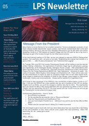 Download May 2013 Newsletter - London Petrophysical Society