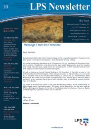 Download October 2013 Newsletter - London Petrophysical Society
