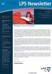 Download March 2013 Newsletter - London Petrophysical Society