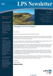 Download August 2013 Newsletter - London Petrophysical Society