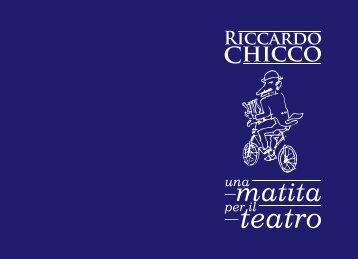 Una matita per il teatro - Riccardo Chicco