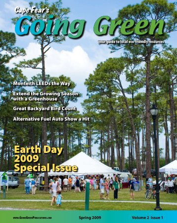 Earth Day 2009 Special Issue - Going Green