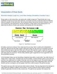Interpretation of Shaly Sands