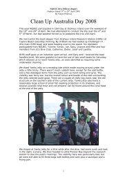 Simon's report - North Queensland Underwater Explorers Club