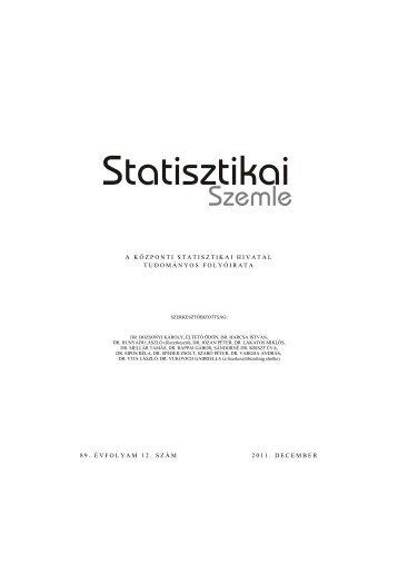 Teljes terjedelem - Központi Statisztikai Hivatal