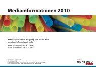 Mediainformationen 2010 - Isler Annoncen AG