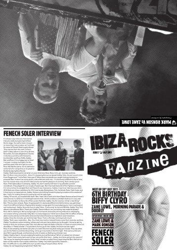 issue 7 - Ibiza Blog