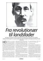 Fra revolutionær til landsfader - Dansk Vietnamesisk Forening