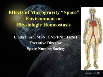 """Effects of Microgravity """"Space"""" Environment on Physiologic Hemostatis"""
