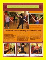 W&G Newsletter June 2010 - Wiggles & Giggles Playhouse